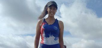La panguipullense Michelle Valenzuela se alista para representar a Chile en la Copa America del Remo