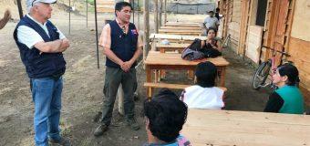 Entregarán recursos a agricultores afectados por incendios en Panguipulli