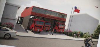Avanza proyecto para construir nuevo cuartel general de Bomberos en Panguipulli