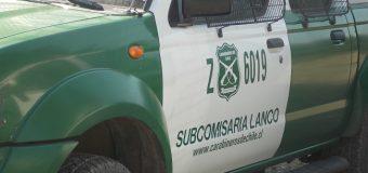 Menor de 5 años cayó a una fosa séptica en Lanco