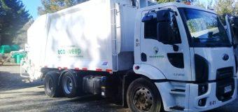 GPS y fono consultas: Moderno camión se incorpora al retiro de desechos domiciliarios