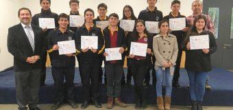 """Imparten nuevo curso de """"inseminación artificial"""" a alumnos de Liceo de Excelencia PHP de Pullinque"""