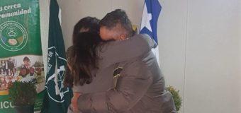 5Ta Comisaría concreta nuevo reencuentro, ahora entre padre e hija