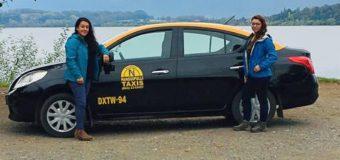Hermanas crean en Panguipulli la primera línea de taxis exclusivos para Mujeres