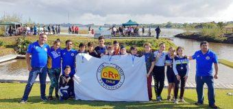 Club Remo Panguipulli consiguió 10 medallas en regata en el Sur del país