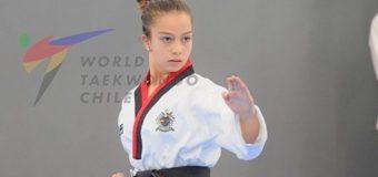 Deportista Panguipullense es titular en selección nacional de taekwondo