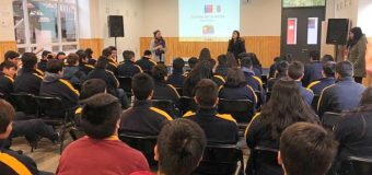 Implementan talleres sobre educación sexual y equidad de género en Liceo de Excelencia en Pullinque