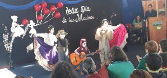 Apoderadas conmemoraron día de la madre en Escuela Pampa Ñancul