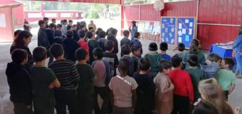 """Escuela Pampa Ñancul tuvo nutrido programa de actividades para conmemorar """"semana del Libro"""""""