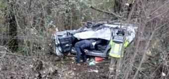 Diputado Rosas sufre violento accidente en la ruta que une Panguipulli y Los Lagos