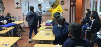 Estudiantes de Escuela Pampa Ñancul aprenden importancia de proteger el bosque nativo