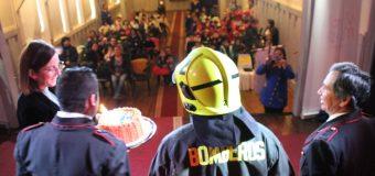 """Esc. Rayito de Luz conmemora """"Día del Bombero"""" y destaca creación de nueva brigada"""