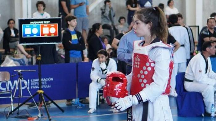 En la Foto: Josefa Durán en competencia