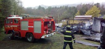 6 damnificados deja incendio en Pucura Alto