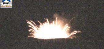 """Mantienen la Alerta Temprana Preventiva por """"explosiones estrombolianas"""" en cráter del Volcán Villarrica"""