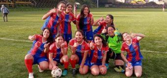 El Fútbol femenino del Liceo Bicentenario en Pullinque se impone
