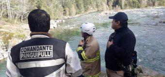 Fiscalía gestiona presencia de grupo especializado de Bomberos en Río Liquiñe