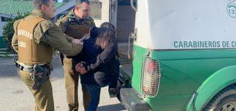 Detienen a mujer por crimen ocurrido en la costanera de Panguipulli en marzo pasado