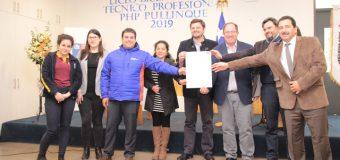 Liceo de Excelencia PHP en Pullinque firma Compromiso Bicentenario con Mineduc