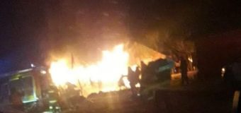 Incendio consumió bodega en Carirriñe