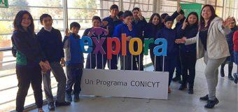Estudiantes de la Escuela Pampa Ñancul visitaron el Congreso Regional de Ciencias en Parque Saval
