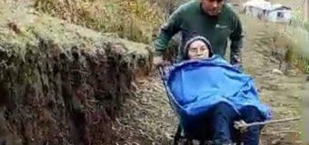 Caso carretilla en Pilinhue: Situación familiar se complica. Mujer quedó ciega y vivienda comprometida aún no llega