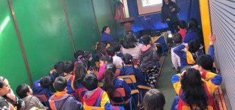 """PDI realizó taller sobre """"auto cuidado y prevención de abusos sexuales"""" en Escuela Rayito de Luz"""