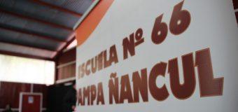 Escuela Pampa Ñancul; Una opción de desarrollo personal y educación cristiana con valores y cultura