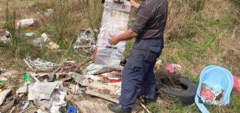 Denuncian nuevo vertedero ilegal en Neltume y llaman evitar acumulación de desechos