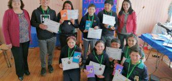 Escuela Pampa Ñancul realizó segundo torneo de inglés Spelling Bee
