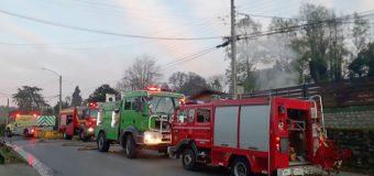 Amago de incendio afectó a restaurante y pastelería en calle Etchegaray