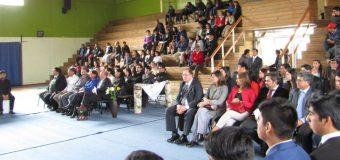 79 Nuevos Profesionales tituló el Liceo Bicentenario Técnico Profesional PHP Pullinque
