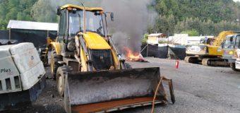 Trabajadores de empresa René García Gross mantienen toma de faena en Choshuenco