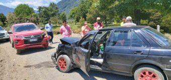 Accidente en las cercanías de Coñaripe dejó dos lesionados
