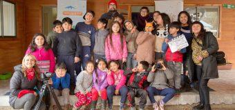 Todo un éxito el estreno de película creada por niños de Panguilelfún