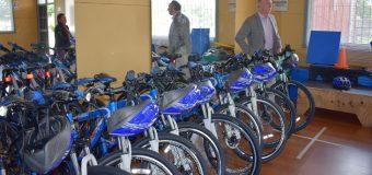 Cesfam de Malalhue recibió 16 bicicletas para programas de Promoción de la Salud