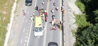 Motorista sufrió accidente entre Neltume y Puerto Fuy
