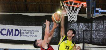 6 Equipos de Panguipulli dan vida al torneo de basquetbol 2020