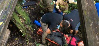 4 Personas resultaron heridas tras colapso de pasarela en Huilo Huilo