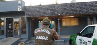 $33 Millones: Labocar indaga millonario robo a Copec de Coñaripe