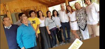 Presidente Piñera realizó sorpresiva y hermética visita a sector de Liquiñe
