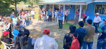 Vecinos de Huitag reciben charla preventiva por hantavirus