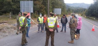 Dirigentes de Puerto Fuy, Neltume y Choshuenco mantienen barreras sanitarias y envían petitorio al Gobierno