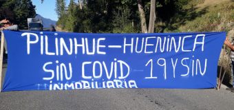 Comunidades de Pilinhue se mostraron inquietos con la llegada de turistas capitalinos