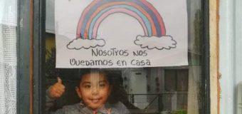 Estudiantes de la Escuela Especial de Lenguaje Alonqueo de Malalhue se sumaron a Campaña Mundial por Covid-19