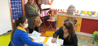 Escuela Especial de Lenguaje Rayito de Luz continúa entregando material para educar en casa