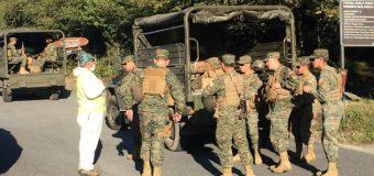 Personal de la PDI y del Ejército realizan patrullajes preventivos en la comuna