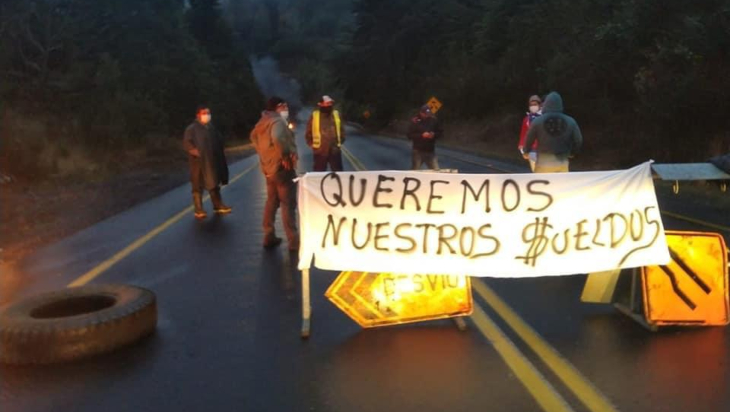 Toma de ruta   IMAGEN DE ARCHIVO