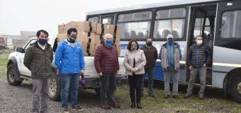 Fundación Papageno donó mil prendas de vestir para escolares rurales de Lanco