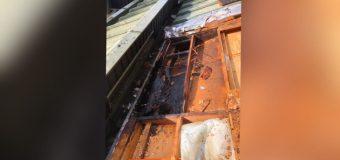 Vivienda terminó con daños menores tras incendio a orillas del Lago Pirehueico
